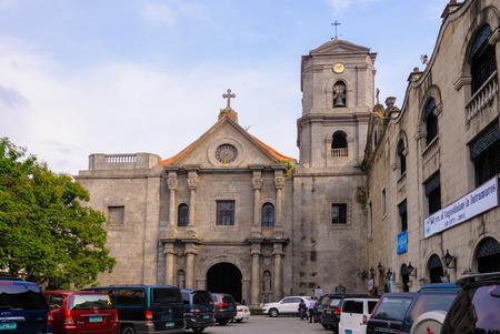 colonial church: San Agustin Church in Manila, Philippines