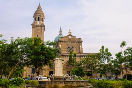 spaniards: The Manila Metropolitan Cathedral-Basilica