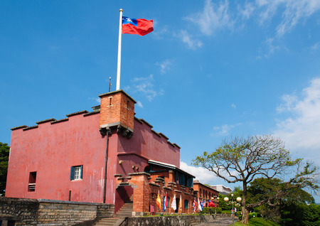 santo: Fort Santo Domingo in Taipei, Taiwan