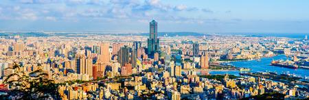 台湾・高雄の町並み
