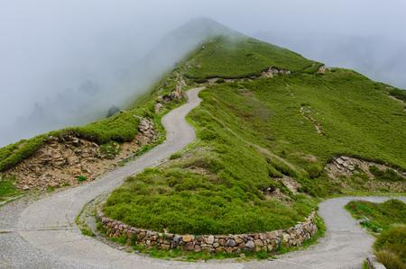 pad op de berg