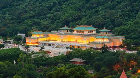 台北、台湾の国立故宮博物院