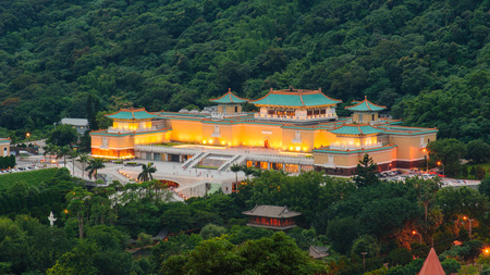 museums: National Palace Museum in Taipei, Taiwan