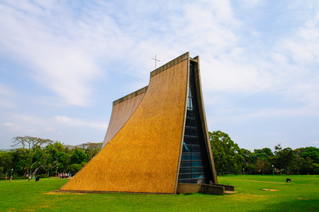 luce: The Luce Chapel on the campus of Tunghai University in Taichung