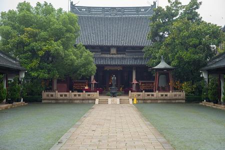 confucian: Wen Miao confucian temple in shanghai, china Stock Photo