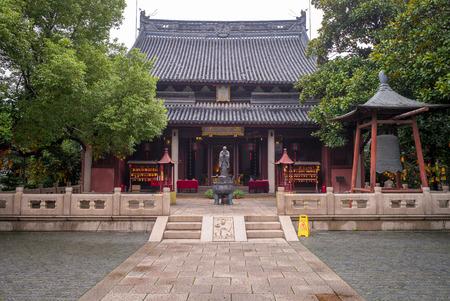 confucian: Wen Miao confucian temple in shanghai, china Editorial