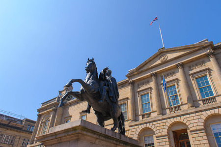 duke: Duke of Wellington Statue in Edinburgh - Scotland