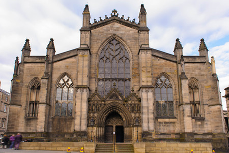 giles: St Giles Cathedral in Edinburgh, Scotland
