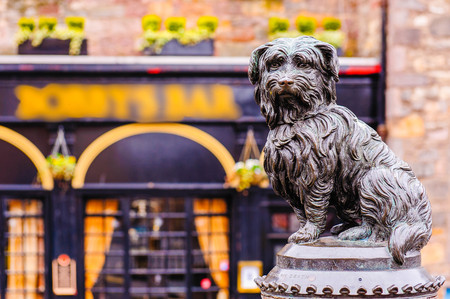 bobby: Sculpture of Greyfriars Bobby