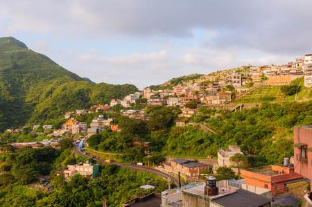 台北、台湾の九份村