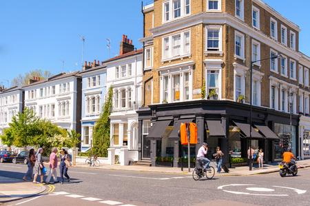 street view of london, UK 報道画像