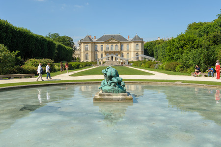 rodin: Rodin Museum in Paris, France Editorial