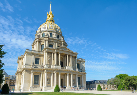 invalides: National Residence of the Invalids in Paris, France