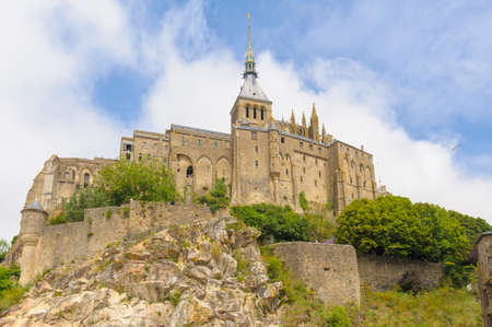 michel: Mont saint Michel in Normandy, France Stock Photo