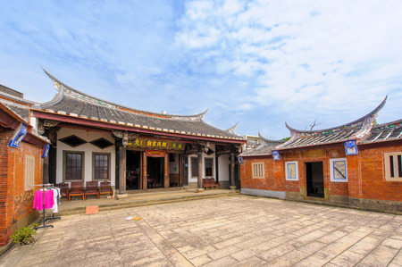 traditional chinese house in hsinchu, Taiwan Editorial