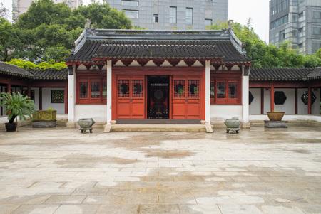 wen: Wen Miao, Confucian Temple, in Shanghai, China
