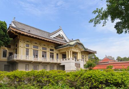 bushido: Tainan Bushido Hall in Tainan city near confucius temple Editorial