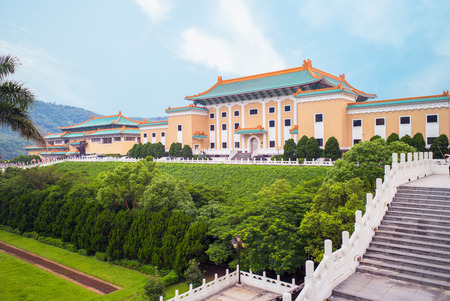 museums: Taipei National Palace Museum in Taiwan