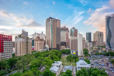 台湾台中市のスカイライン