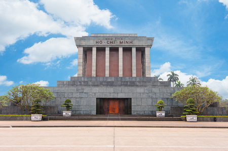 communism: Ho Chi Minh Mausoleum in centre of the Ba Dinh Square, Hanoi, Vietnam