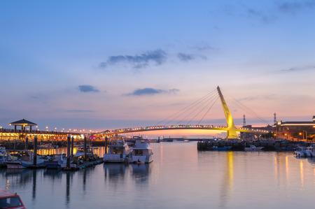 フィッシャーマンズ ・ ワーフ、tamsui の恋人の橋 写真素材 - 60328397