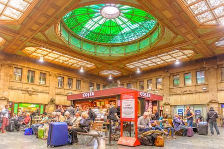 waverley: The booking hall at Edinburgh Waverley railway station