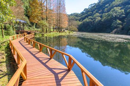 台湾宜蘭福山植物園の風景