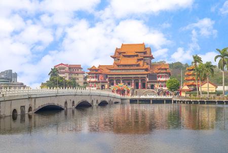 Bao An temple in Jinshi Lake, Kaohsiung, Taiwan