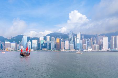 skyline of hong kong, china Stock Photo