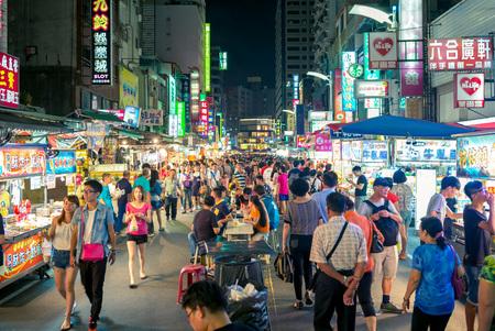 liuhe night market in kaohsiung
