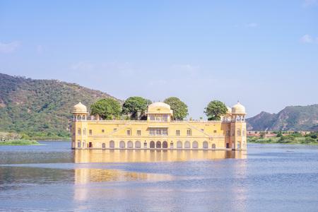 sagar: Jal Mahal (Water Palace) in Man sagar Lake, Jaipur, India. Editorial