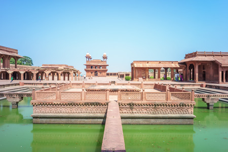 mughal empire: Fatehpur Sikri, a city served as the capital of the Mughal Empire from 1571 to 1585