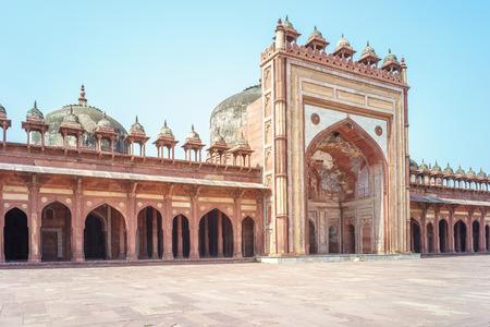 fatehpur: Jama Masjid at Fatehpur Sikri in India