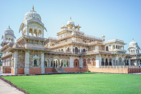 central government: albert hall museum in jaipur, india