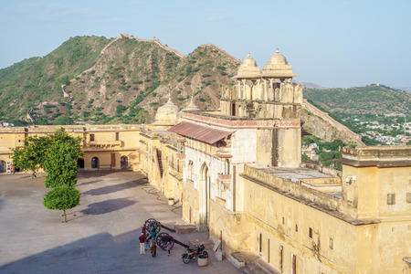 amber fort: Amber fort in Jaipur, Rajasthan, India Editorial