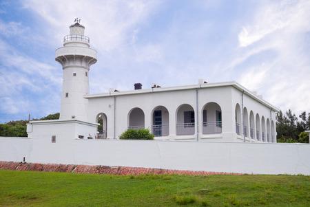navigational light: Eluanbi lighthouse at kenting, pingtung, Taiwan