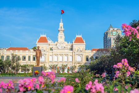 Oficina del Comité cabeza de Ho Chi Minh City People Foto de archivo - 69901222