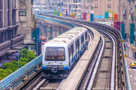 taipei metro system 写真素材