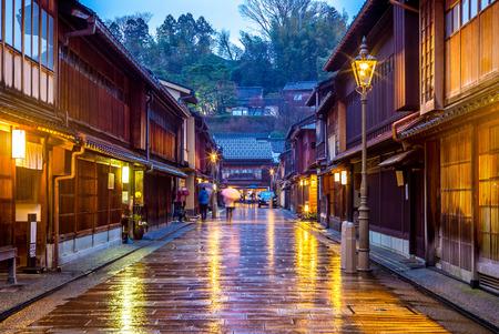 Higashi Chaya District in Kanazawa, Japan