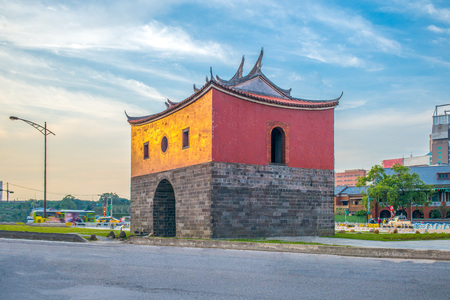 the north gate, cheng-en gate, of old taipei city