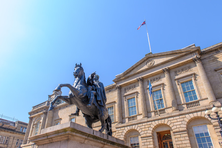princes street: General Register House of National Archives of Scotland Stock Photo