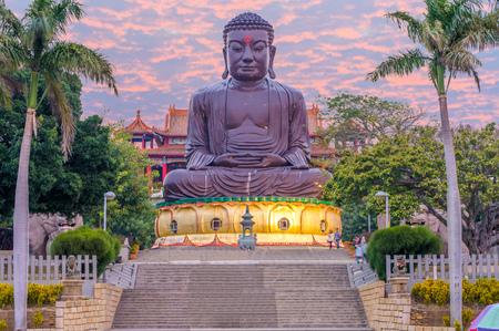 Changhua Great Buddha Statue of Bagua Mountain (Baguashan)