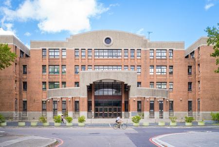 building in taiwan university in taipei