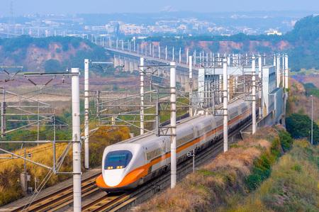 Tajwan szybkiej kolei Zdjęcie Seryjne