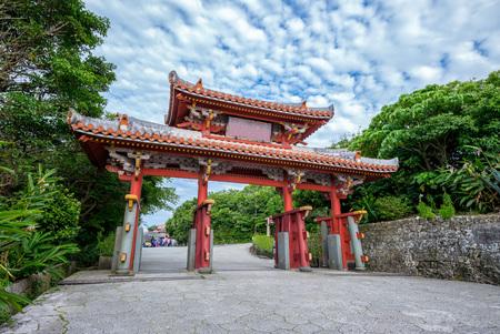 守礼門、那覇市の首里地区ゲート 写真素材 - 79476062