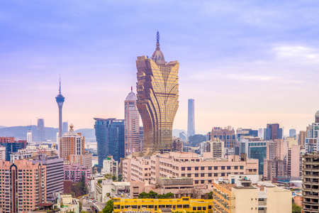 Skyline of macau