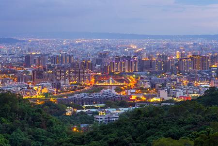 Cityscape of Dakeng, Taichung