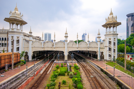 Kuala Lumpur railway station in kuala lumpur
