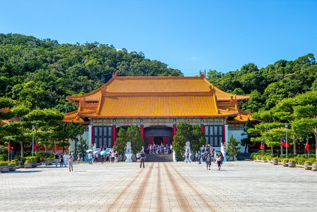 National Revolutionary Martyrs Shrine in Taipei. Dedicated to the war dead of the Republic of China