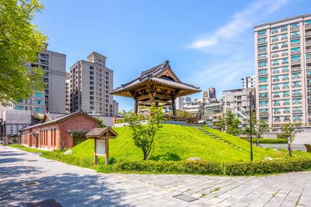 Nishi Honganji Square at ximen, taipei, taiwan Stok Fotoğraf